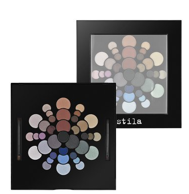 Stila Color Wheel Eye Shadow Palette.  Stila's palett ($38)e contains the colors and tools necessary to create countless looks for day and night. It includes 37 eyeshadow shades, a mirror, two double-ended eyeshadow brushes, and a 16-page lookbook with tips and tricks from Stila's Pro Artists and step-by-step instructions. Wow, I want!  Best thing, only $38 dollars, what a value!