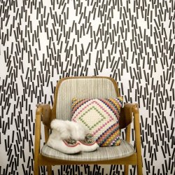 Home sweet home is a collection of wallpapers by Swedish Åsa Dahlbäck. Photo by Elisabeth Dunker.