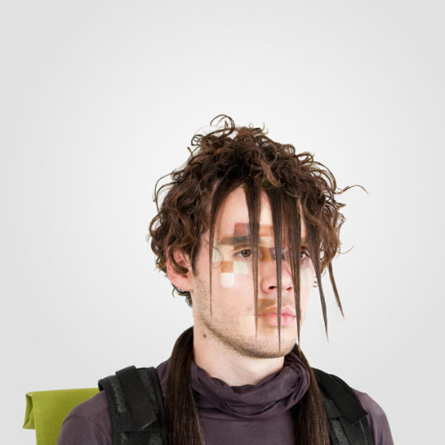 "Anti-Surveillance Hair For DIS Magazine, ""How To Hide From Machines"" Photos :: Adam Harvey + Marco Roso"