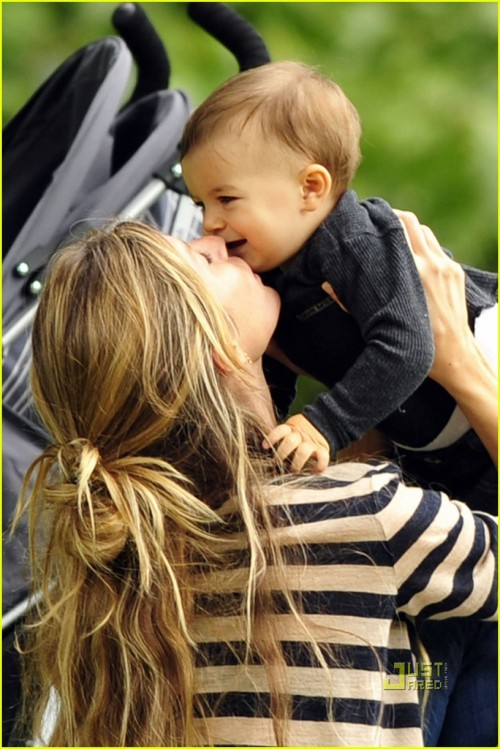 gisele & benjamin. via justjared