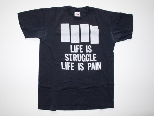 LIFE IS STRUGGLE LIFE IS PAIN