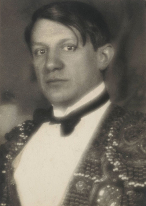 artistandstudio:  chagalov: Picasso, Paris early 1920s by Man Ray.   Yale Library.