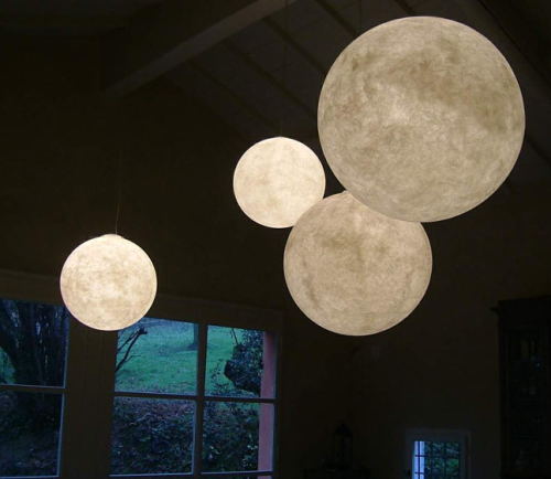 Moon lamps by in-es.artdesign