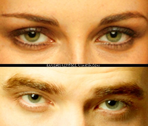 Dear Rob and Kristen, Please have some green eyed babies now.