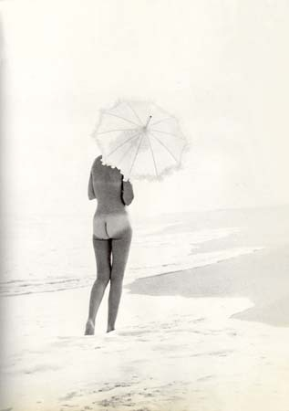 bare butt at the beach ———-vintage style