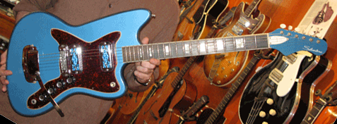 A very rare and beautiful metallic blue SIlvertone 1480, probably 1967. The original sears catalog stated a price of $89.95.