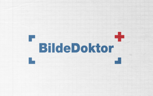 A logo we made for bildedoktor.no a while back.
