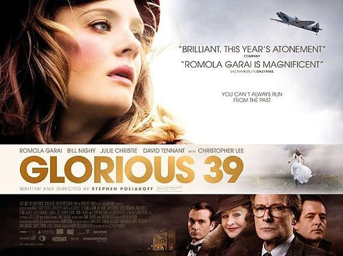 Film poster for Glorious 39. :D