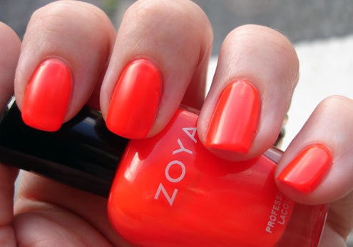 "Zoya ""Paz"", one of my favorite brights.  Via"