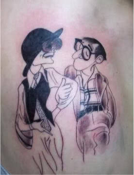 I'm a huge Woody Allen fan and I lurve Annie Hall Done by Lizzie Renard of Speakeasy tattoo in Toronto, Ontario Submitted by woodyfanon