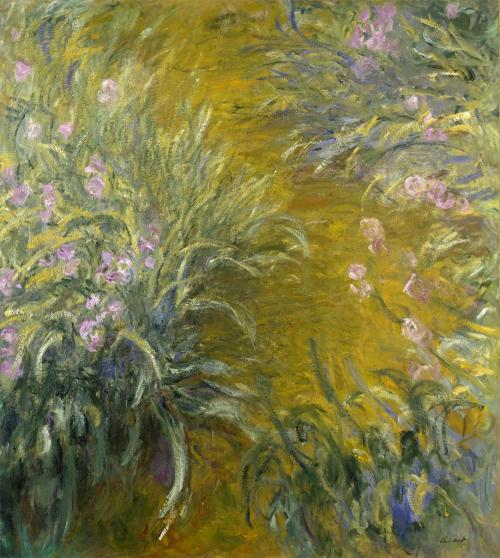 aleyma:  Claude Monet, The Path Through the Irises, 1914-17 (via).