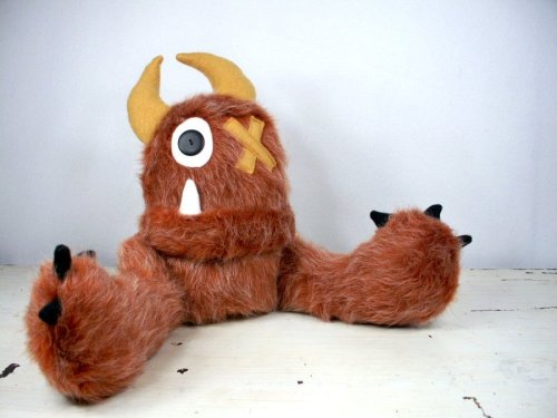 Randolph the Plush Monster by ~LEFTZ