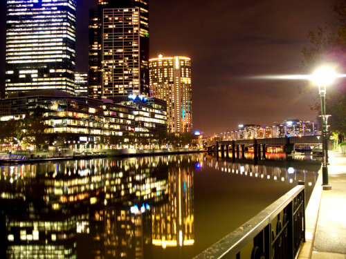 Melbourne At Night 2 by *moviegirl78