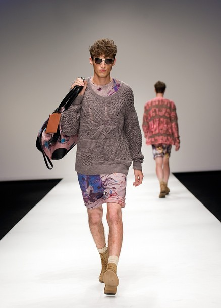 fuckyeahmodelhomme:  Charlie France | James Long SS11
