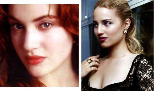 I think Dianna resembles Kate Winslet in Titanic here, does anyone agree?