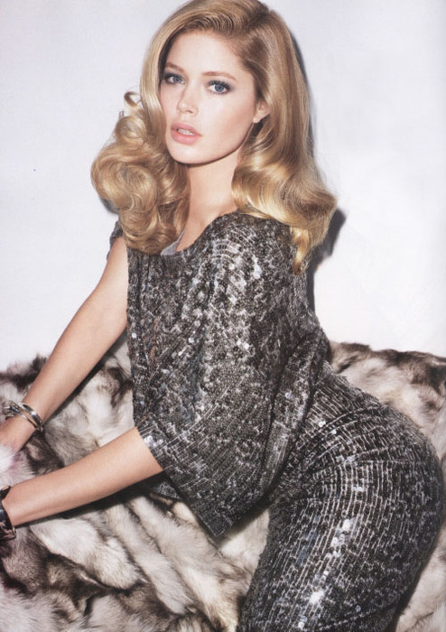 Doutzen Kroes by Terry Richardson Harper's Bazaar July 2009