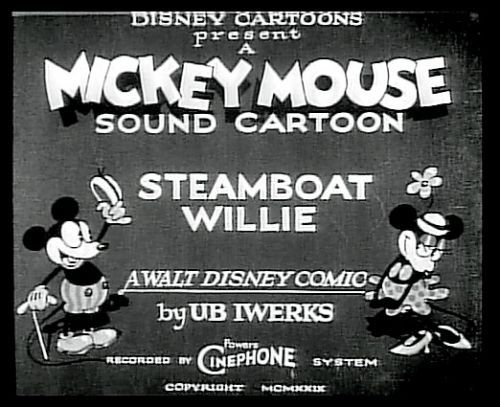 "ifwelivethatlong:  ""Steamboat Willie"" (1928)."