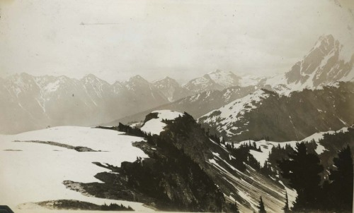View from summit of Table Mountain, 1930. Photo: Eric H. Pearson