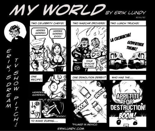 My world comic 9/22/10 #webcomic #webcomics