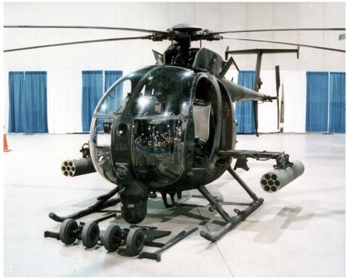 The MH-6 Little Bird is the Honda Civic of fucking helicopters.