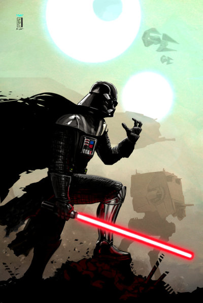 Awesome Vader Art! pigtailsandcombatboots:  — Empire —  by *wyv1