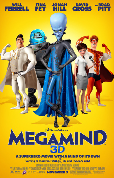 Megamind Final One Sheet!