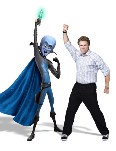 New Megamind Image Will Ferrell