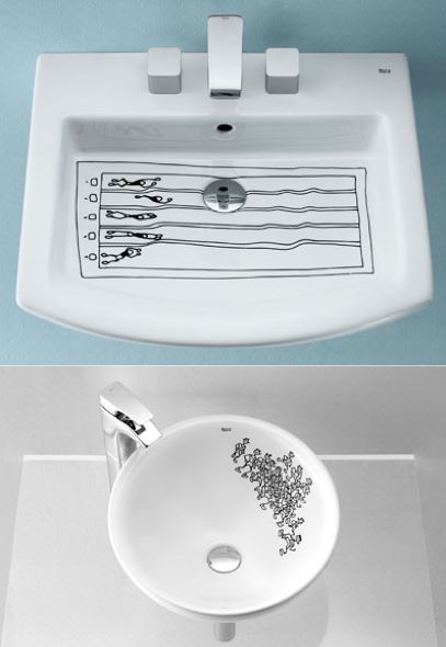 szymon:  basins designed by Jarvier Mariscal