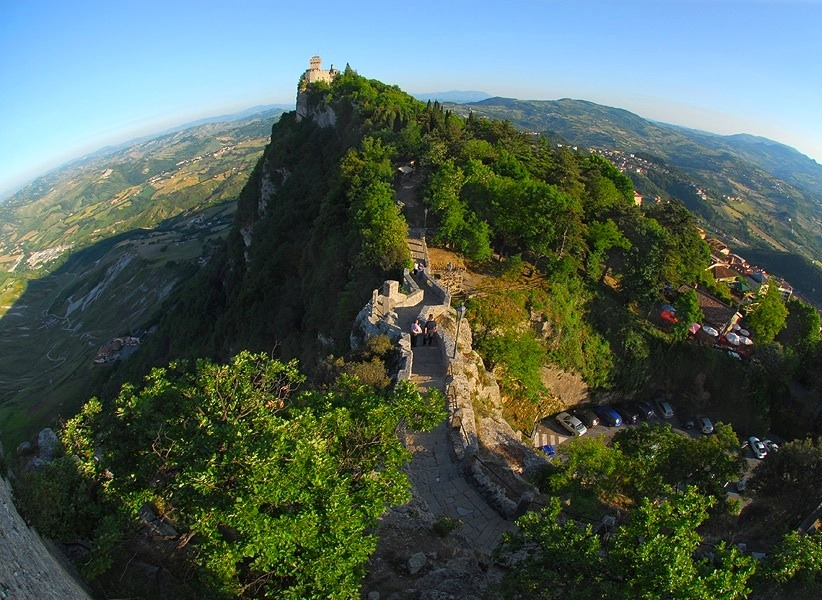 | ♕ |  San Marino Castle - Italy  | post by pirizoe | via ysvoice