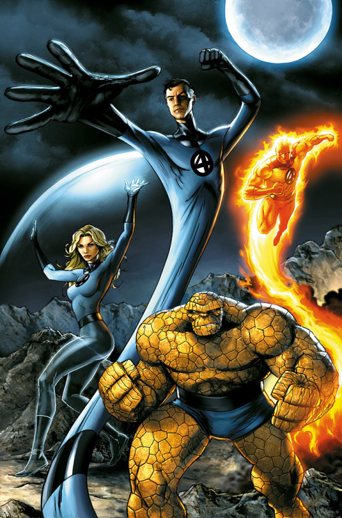 Fantastic Four by *JPRart