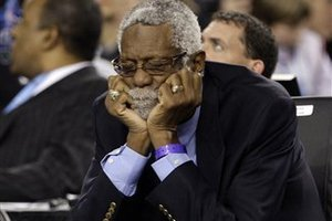 Shhhhhh! You'll wake Bill Russell!