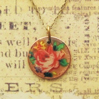 Click through to learn how to make this penny pendant!