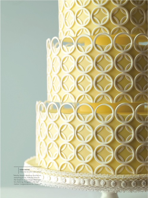 LOVE this cake! By Mark Joseph Cakes for Martha Stewart Weddings.