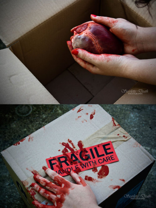 My fragile heart by *ScarletteDeath