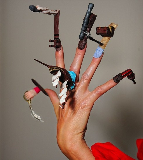 Yes, there is a Nailympics. You're welcome. (via The Gloss)