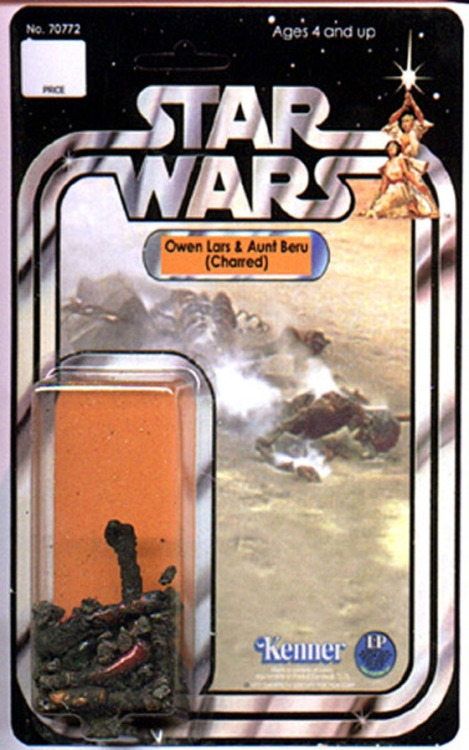 StarWars : Owen Lars & Aunt Beru (Charred). via www.tifr.us