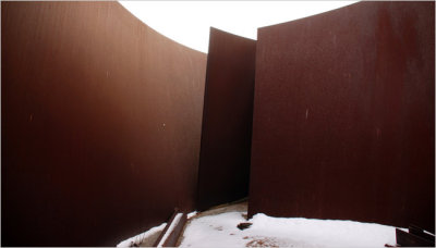 Richard Serra Sculpture Rots In The BX