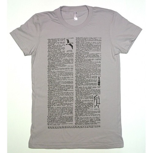 teachingliteracy:  dictionary tee shirt.
