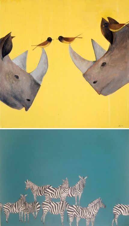 kalli:  frickin awesome paintings by wild things art on etsy