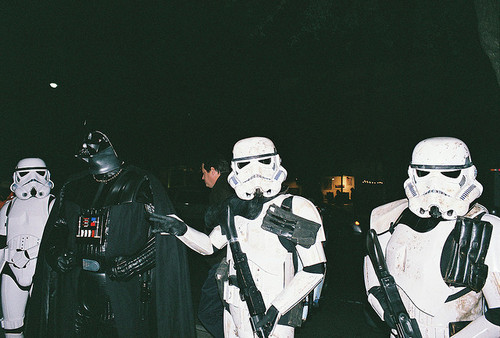 darthnerd:  Guys night out.