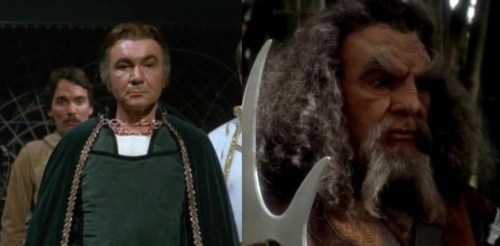 In the same episode, Baltar as Kor