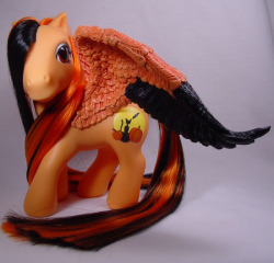 Wicked Wings Halloween pegasus by Woosie