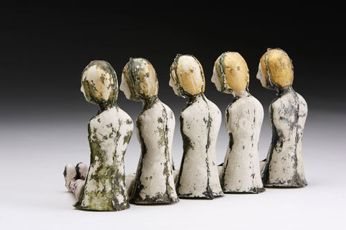 whitehotel:  Andrea Dezso, Women with mossy deposits (2009)
