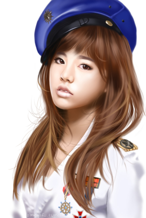 omegafu:  I drew Sunny.  She's my guinea pig for this style of realism, chose to do her because I don't draw her a lot or ever unless it's group pics. And her face is a masterpiece. Took 4 hours hnng. I'm hungry.