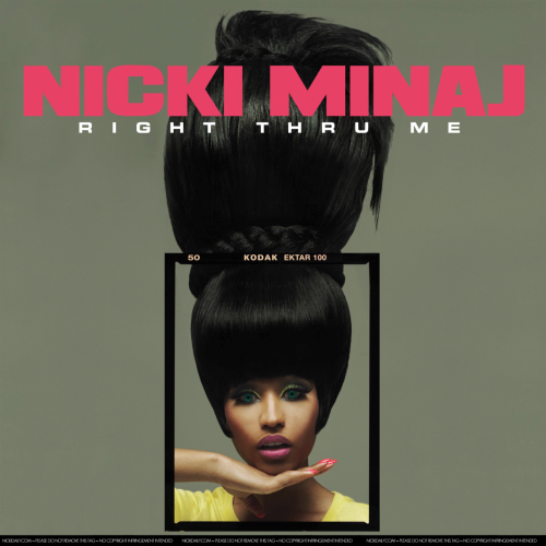 fuckyeahharajukubarbie:  Right Thru Me cover art via NickiDaily>