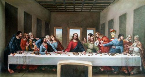 Leonardo da Vinci: The Last Supper Found by Anya Garrett
