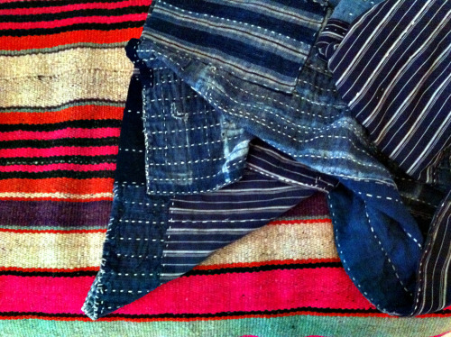 scrap demin quilts!!! (and woven blankets & rugs)