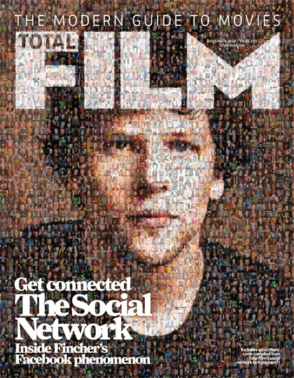 Total Film, November 2010 Subscribers Cover A photo-mosaic making up Jesse Eisenberg's face from our Social Network followers. Reblogging cos this cover is the boss. And to say thanks for my free Social Network Blu-ray yesterday. Deffo my favourite cover while I've been at TF (not just cos I'm on it!) Dan :)