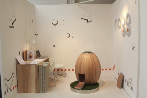nogg set up at Tent London