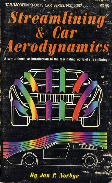 Streamlining and Car Aerodynamics by Jan P. Norbye (1977). Found here.